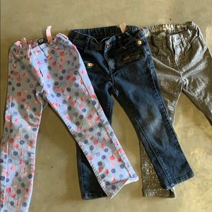 Other - Set of 3 girls 3T jeans